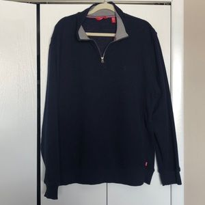 Izod half zip sweatshirt